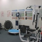Exercise room WAVE machine